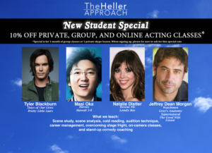 Student Special | Top Acting Classes in Hollywood